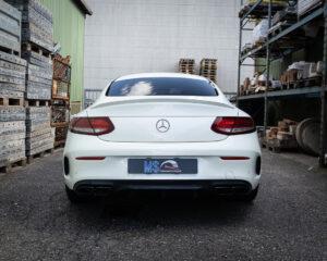 Mercedes C63 AMG Heck